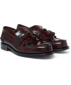 Church's | Oreham Burnished-Leather Kiltie Tasselled Loafers
