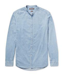 Michael Kors | Slim-Fit Grandad-Collar Denim Shirt