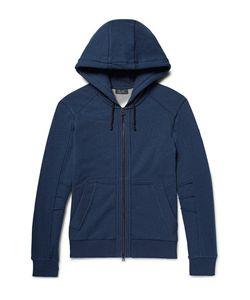 Belstaff | Fleming Loopback Cotton-Jersey Zip-Up Hoodie
