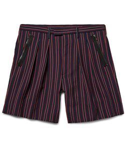 Wooyoungmi | Striped Seersucker Shorts