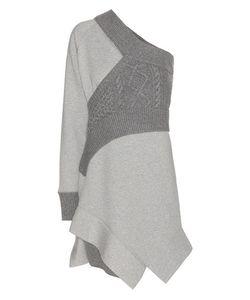 Burberry | Panelled Jersey Sweatshirt Dress