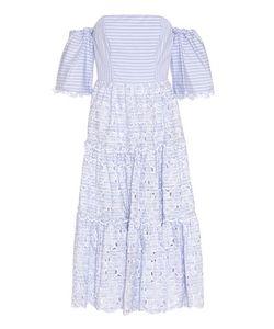 Erdem | Off-The-Shoulder Cotton Eyelet Dress