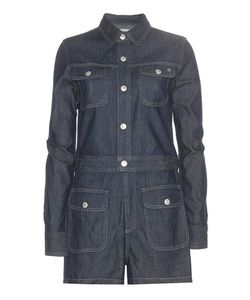 Alexa Chung for AG | Loretta Denim Playsuit
