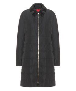 Moncler Gamme Rouge   Fur-Trimmed Coat