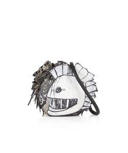 Burberry | Pallas Helmet Leather And Snakeskin Shoulder Bag