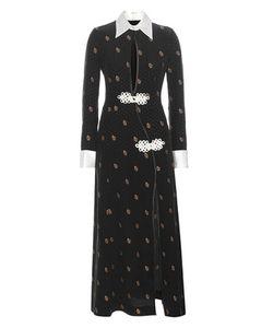 Alessandra Rich | Jacquard Silk Dress