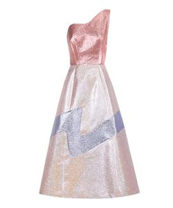 Vika Gazinskaya | Metallic Midi Dress