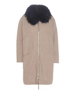 Army Yves Salomon | Fur-Trimmed Parka Coat