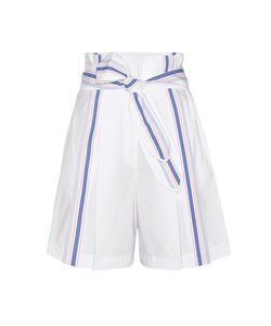 Edun | Pleated Cotton Shorts