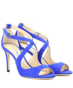 Jimmy Choo | Emily 85 Suede Sandals