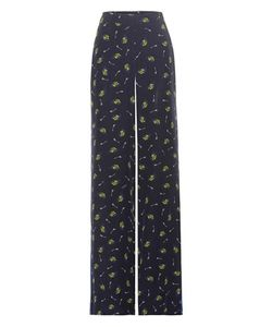 Dorothee Schumacher | Cosmic Fantasy Printed Silk Trousers