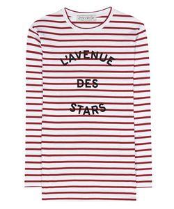 Être Cécile | Lavenue Des Stars Striped Cotton Top