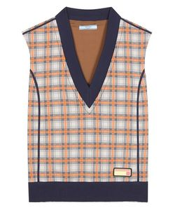Prada | Checked Sweater Vest