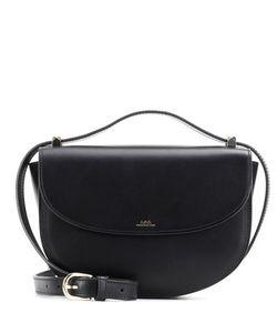 A.P.C. | Lizz Noir Leather Shoulder Bag
