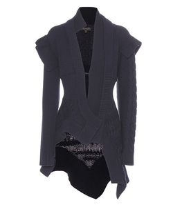 Burberry | Wool And Cashmere Knitted Jacket
