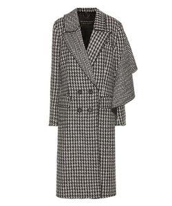 Burberry | Houndstooth Wool Coat