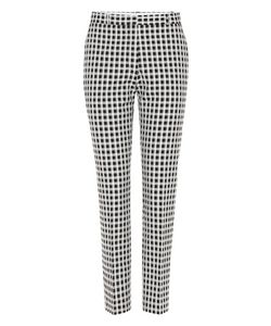 Each X Other | Checked Cotton-Blend Trousers