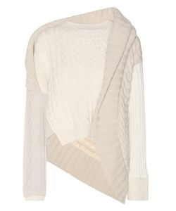 Burberry | Cashmere And Wool Cable-Knit Sweater