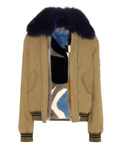 Army Yves Salomon | Fur-Lined Cotton Jacket