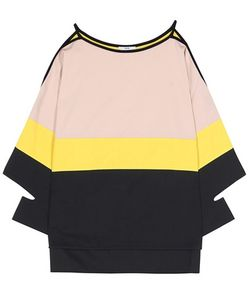 Edun | Striped Cotton Gabardine Top