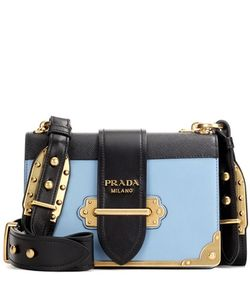Prada | Cahier Leather Shoulder Bag