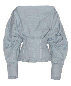 Jacquemus   Plaid Cotton Top