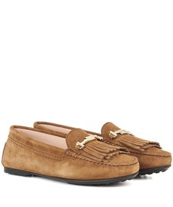 Tod's | Suede Moccasins