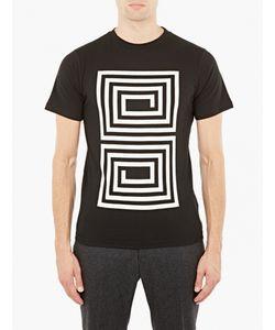 Saturdays Surf Nyc   Maze Motif Cotton T-Shirt