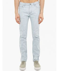 Saturdays Surf Nyc   Bleached Denim Jeans