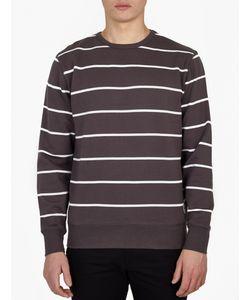 Saturdays Surf Nyc   Striped Bowery Sweatshirt