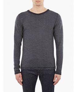 S.N.S. Herning | Navy Wool Sweater