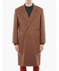 Cmmn Swdn | Jacquard Single-Breasted Wool Coat