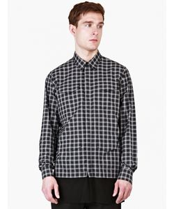 Casely-Hayford | Checked Stanley Contrast-Hem Overshirt