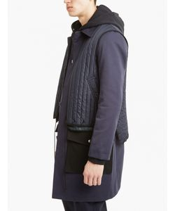 Tim Coppens | Panelled Trench Coat