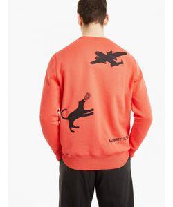 Tim Coppens | Panelled Cotton Sweatshirt