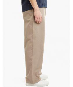E. Tautz | Stone Cotton Field Trousers