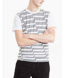 Comme Des Garçons Shirt Boy | Curved Step T-Shirt