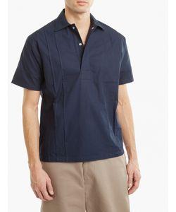 E. Tautz | Pleated Cotton Shirt