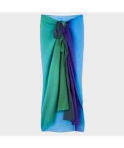Paul Smith | Womens Ombré Cotton-Silk Sarong