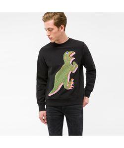 Paul Smith | Mens Organic-Cotton Dino Print Sweatshirt