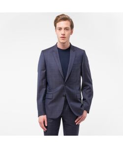 Paul Smith | Mens Mid-Fit Wool Check Blazer