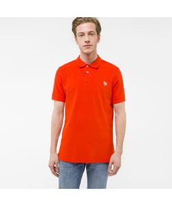 Paul Smith | Mens Organic-Cotton Zebra Logo Polo Shirt