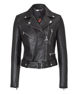 Philipp Plein   Leather Jacket Rainbow