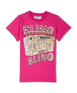 Philipp Plein | T-Shirt Round Neck Ss Bling Bling