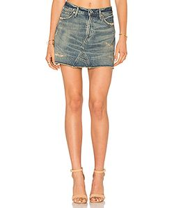 Citizens of Humanity | Cut Off Mini Skirt