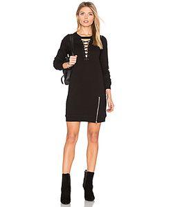 Pam & Gela | Choker Lace Up Dress
