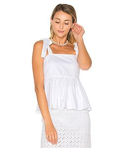 By Johnny | Tie Strap Frill Camisole