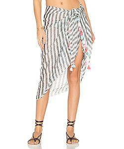 Seafolly | Linen Block Stripe Sarong