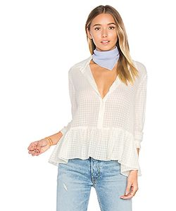 The Great | The Ruffle Oxford Top