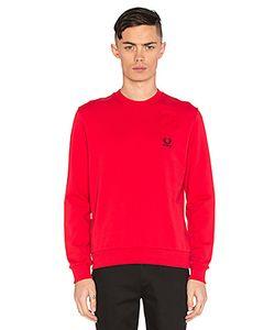 Fred Perry x Raf Simons | Denim Pocket Sweatshirt